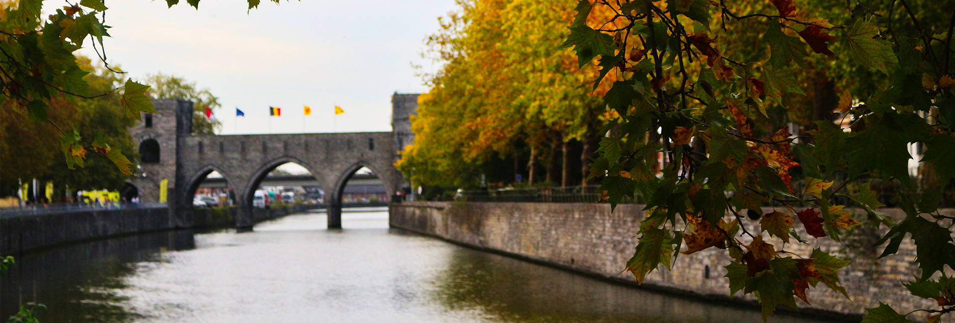 Pont des trous, Tournai by Coffee Lab Pics